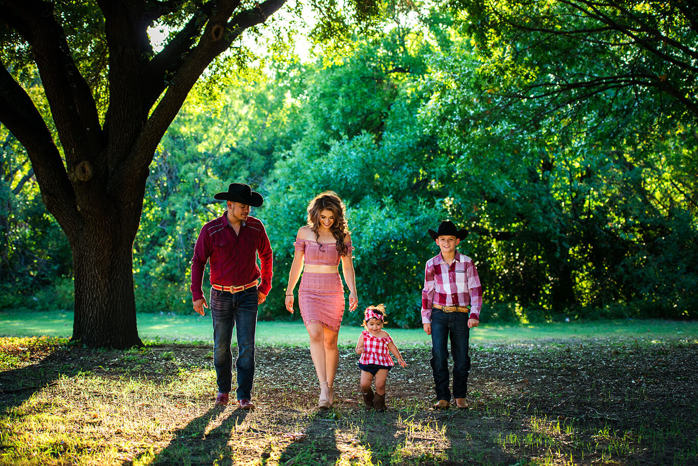Texas family photography outdoors