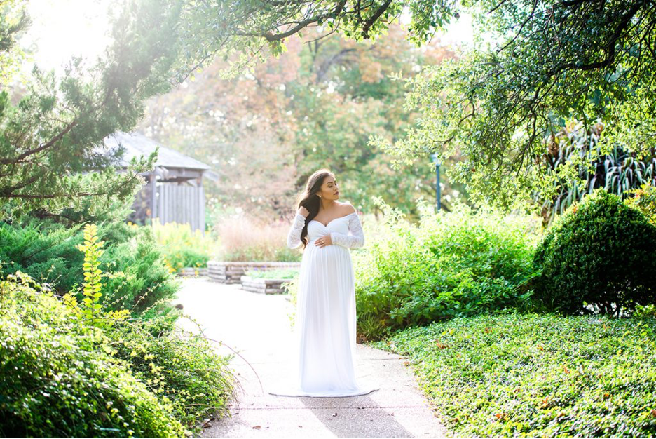 maternity photography dress white maternity gown