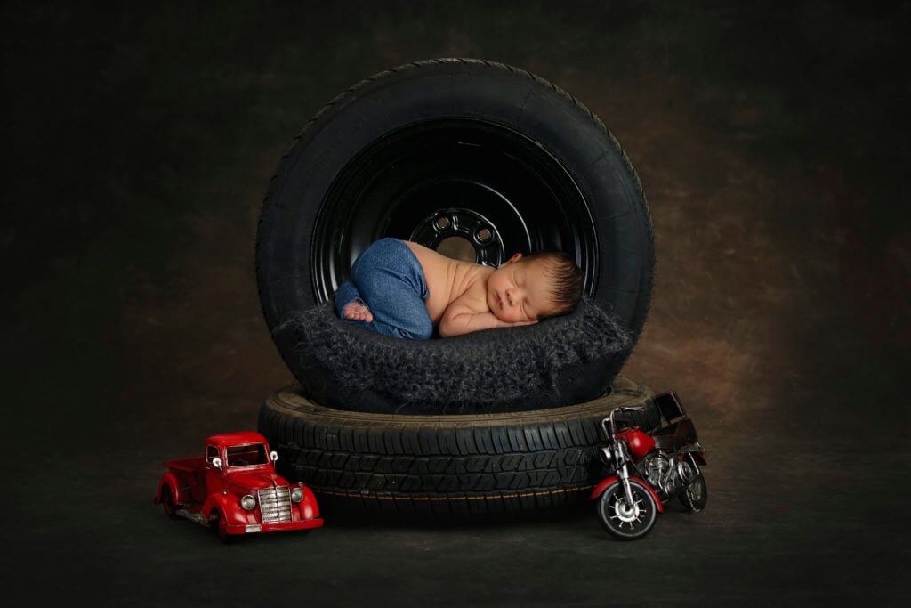 Newborn photography outfits boy