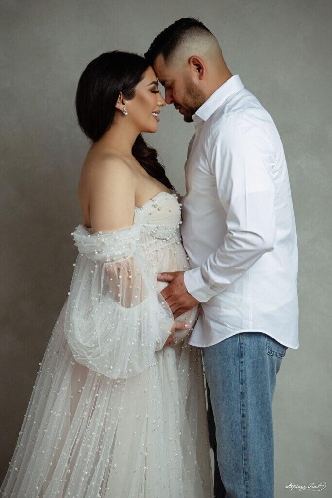 Unique maternity photo shoot maternity photo session in studio