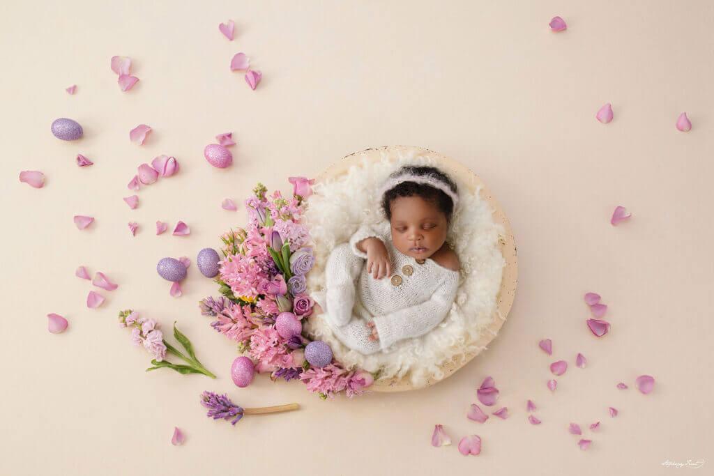 Easter newborn photo ideas