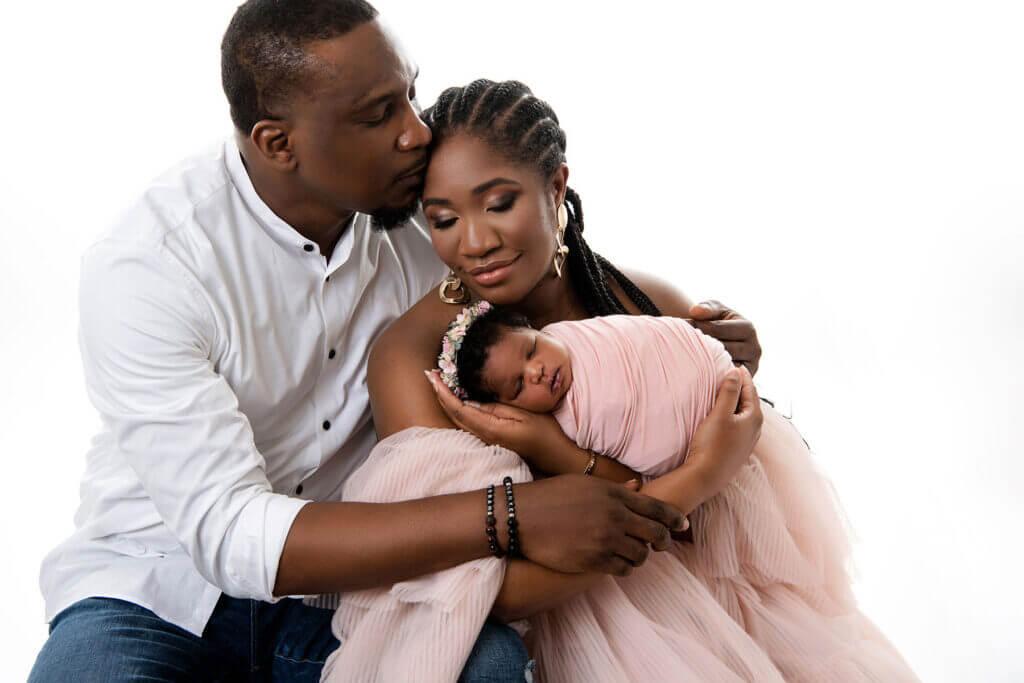 newborn session for a girl Dallas family photographer