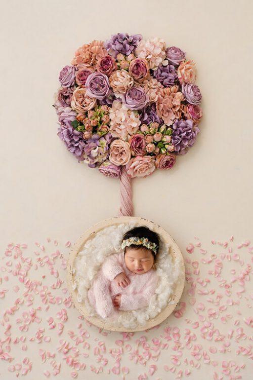 DFW newborn photographer creates unique baby photography